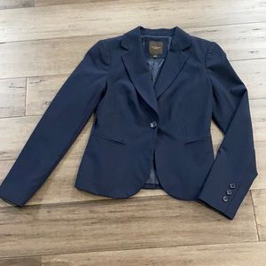 The limited nwot navy jacket